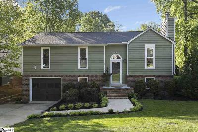 Greenville Single Family Home For Sale: 1033 Summit