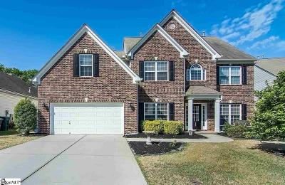 Simpsonville Single Family Home For Sale: 19 Heritage Point