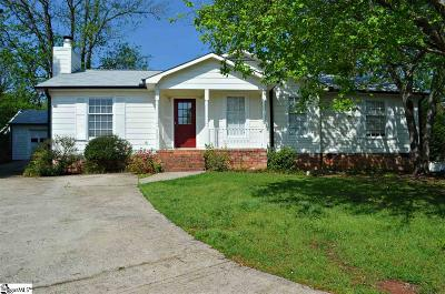 Greenville County Single Family Home Contingency Contract: 110 Germantown