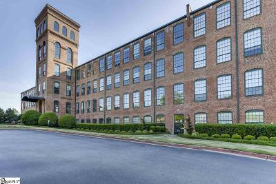 Greenville County Condo/Townhouse For Sale: 400 Mills #Unit 320