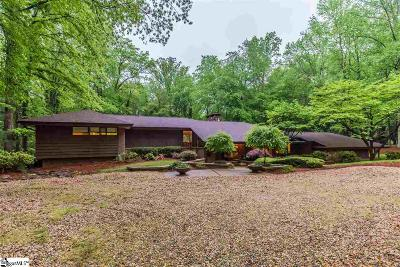 Spartanburg Single Family Home For Sale: 1303 Pinecrest