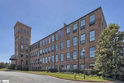 Greenville County Condo/Townhouse For Sale: 400 Mills #Unit 427