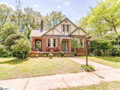 Spartanburg Single Family Home For Sale: 549 Poplar