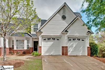 Greenville County Condo/Townhouse For Sale: 107 Clearbrook