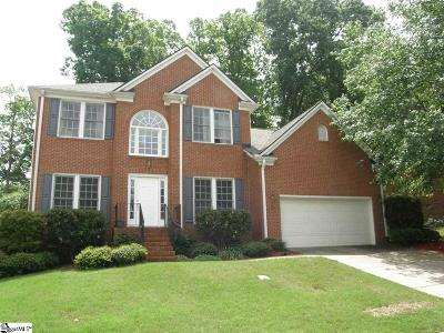 Greenville County Single Family Home For Sale: 24 Bentley
