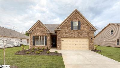 Simpsonville SC Single Family Home For Sale: $252,145