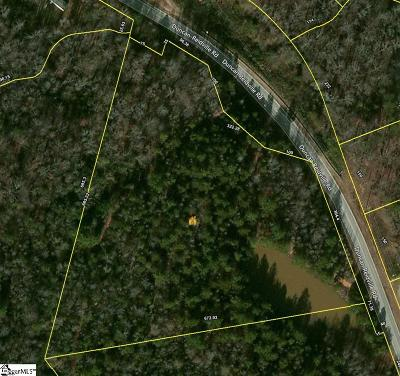 Spartanburg Residential Lots & Land For Sale: Duncan Reidville