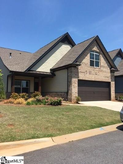 Greenville County Condo/Townhouse For Sale: 302 Scotch Rose