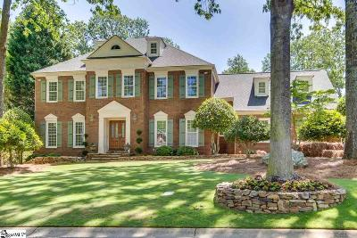 Greenville County Single Family Home For Sale: 109 Thornblade