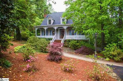 Spartanburg Single Family Home For Sale: 1610 Hollyberry