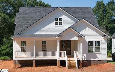 Greenville County Single Family Home Contingency Contract: 104 Brookview