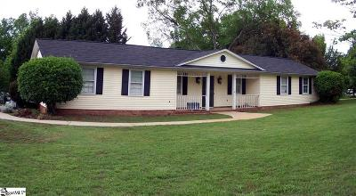 Simpsonville Single Family Home For Sale: 102 Wagon Wheel