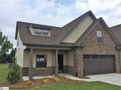 Simpsonville Condo/Townhouse For Sale: 212 Bay Laurel #5A