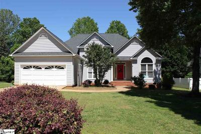 Greenville County Single Family Home For Sale: 16 Grouse Ridge