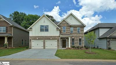 Greenville County Single Family Home Contingency Contract: 514 Bellgreen #Lot 47