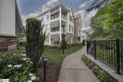 Greenville County Condo/Townhouse For Sale: 172 Ridgeland #Unit 100