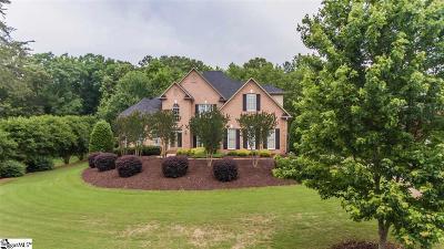 Spartanburg Single Family Home For Sale: 884 Oakcrest