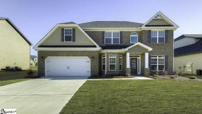 Simpsonville Single Family Home For Sale: 104 Ashcroft #Lot 36
