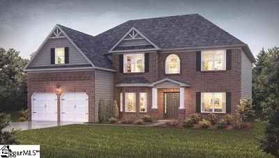 Simpsonville Single Family Home For Sale: 201 Ashcroft #Lot 9