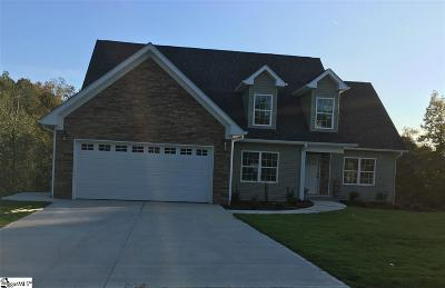 Greenville County Single Family Home For Sale: 719 Rockcliff
