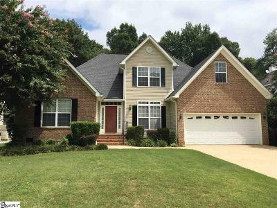 Greenville County Single Family Home For Sale: 12 Oakmont
