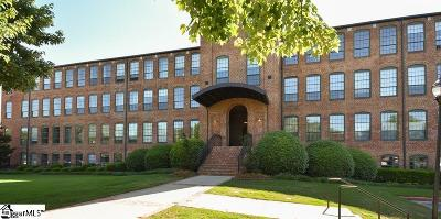 Greenville County Condo/Townhouse For Sale: 400 Mills #Unit 410