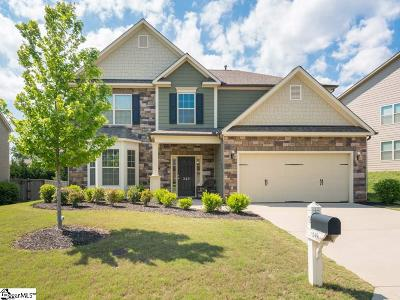 Greenville County Single Family Home Contingency Contract: 249 Raven Falls