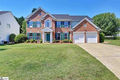 Greenville County Single Family Home For Sale: 109 Dean Lake