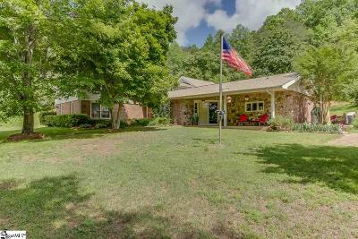 Travelers Rest Single Family Home For Sale: 524 Bates Crossing