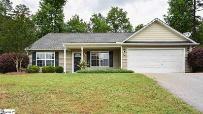 Simpsonville Single Family Home For Sale: 26 Patriots Pride