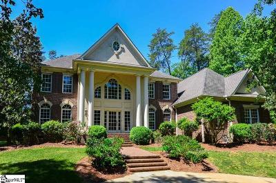 Spartanburg Single Family Home For Sale: 504 Carolina Club