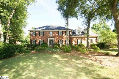 Greer SC Single Family Home For Sale: $520,000