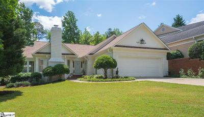 Greenville County Single Family Home For Sale: 123 Hidden Hills
