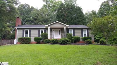 Greenville County Single Family Home Contingency Contract: 600 S Parker