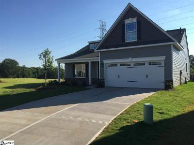 Greenville County Single Family Home For Sale: 129 Vauburen #lot 9