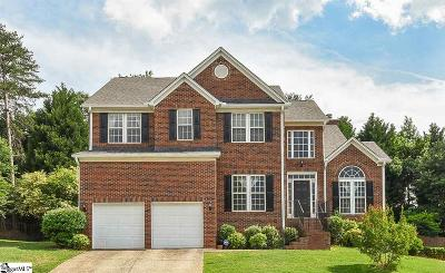 Greenville County Single Family Home For Sale: 8 Bentley