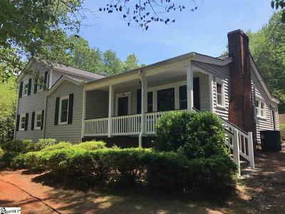 Travelers Rest Single Family Home For Sale: 108 Tubbs Mountain