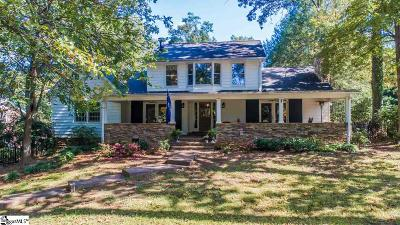Greenville Single Family Home For Sale: 15 Trails End