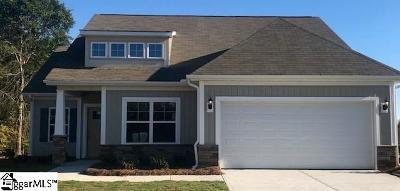 Spartanburg Single Family Home For Sale: 712 Maple Hollow