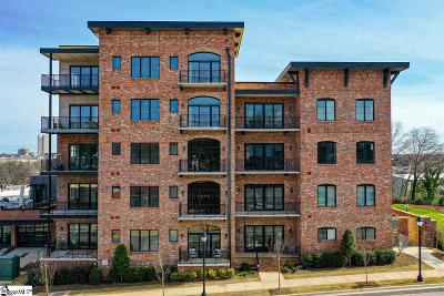Greenville Condo/Townhouse For Sale: 110 N Markley #Unit 101