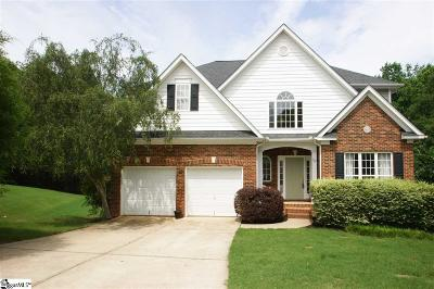 Greenville County Single Family Home For Sale: 527 Collingsworth