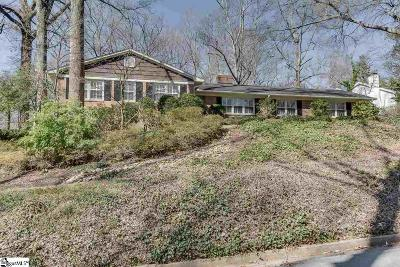Greenville County Single Family Home For Sale: 105 Morningdale