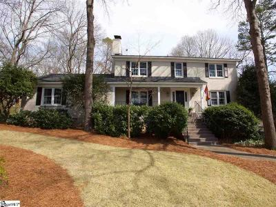 Greenville County Single Family Home Contingency Contract: 6 Thornwood