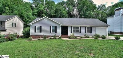 Greenville County Single Family Home For Sale: 122 Canebrake