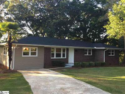 Greenville County Single Family Home For Sale: 27 Strawberry