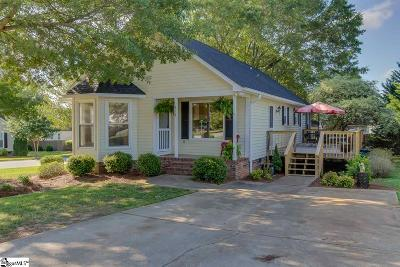 Simpsonville Single Family Home For Sale: 318 Fairdale