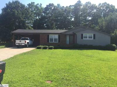 Greenville SC Single Family Home For Sale: $125,000