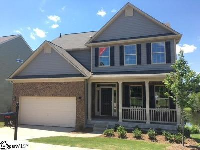 Greenville County Single Family Home For Sale: 432 Riverdale #lot 26