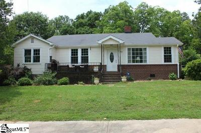 Piedmont Single Family Home For Sale: 208 S Circle