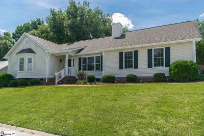 Simpsonville Single Family Home For Sale: 19 Hatteras